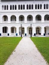 Facade Of Historic Building. R...