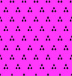 Leinwanddruck Bild - Tree in triangle pattern seamless repeat background