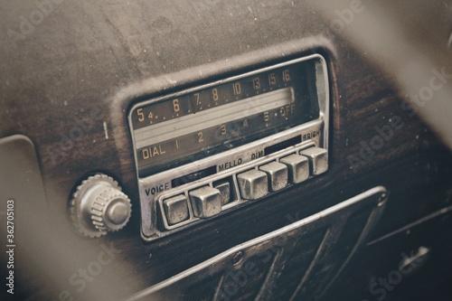 Papel de parede High Angle View Of Vintage Car