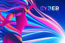 Cyber Theme Design Or Key Visu...