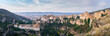 Leinwandbild Motiv Panoramic View Of Buildings In City Against Sky