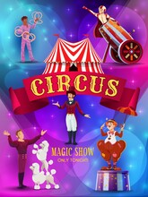 Big Top Circus Show Flyer Or P...