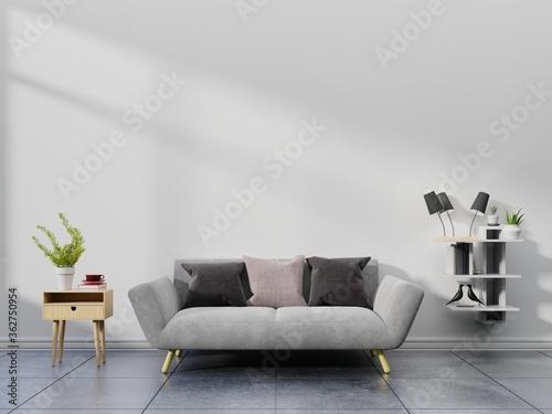 Fototapeta Interior Of Modern Home With Furniture obraz na płótnie