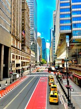 42nd Street In Midtown Manhattan