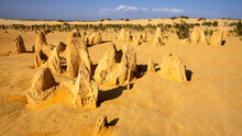 Pinnacles Sand Desert Western ...