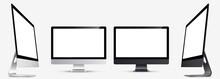 Mockup. Screen Monitor Display...