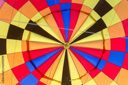 Canvastavla Full Frame Shot Of Hot Air Balloon