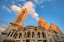 The Famous Basilica Sacre-Coeu...