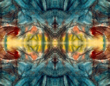 Modern Art Pattern. Kaleidosco...
