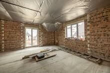 Interior Of Unfinished Brick H...