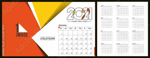 happy new year 2021 calendar new year holiday design elements for holiday cards calendar banner poster for decorations vector illustration background buy this stock vector and explore similar vectors at adobe stock