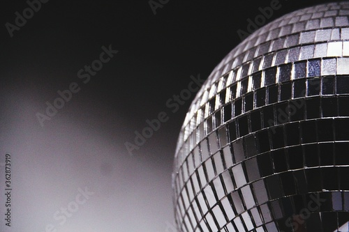 Fototapeta Silver Disco Mirror Ball