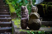 Stone Sculpture Of Idols In Bali