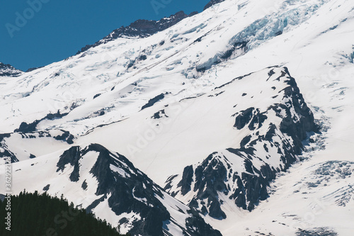 Mount Rainier Closeup of the Prow