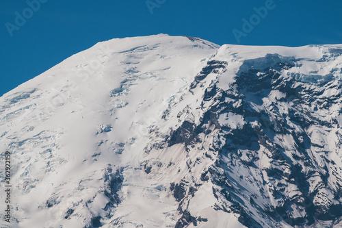 Mount Rainier Summit Close Up