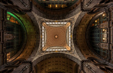 Ceiling Of The Antwerp Central...
