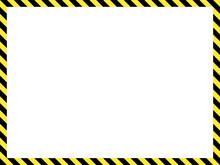 Construction Warning Border, V...