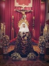 Virgin Mary In Church