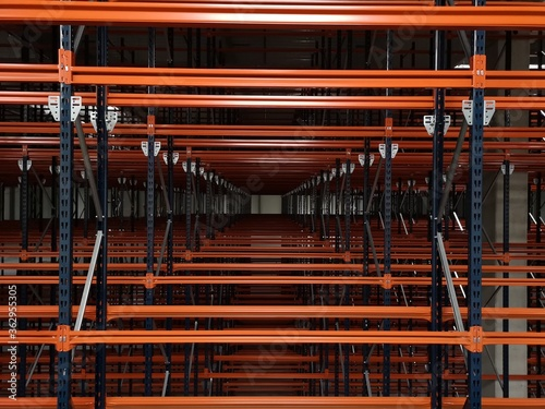 Fototapeta Full Frame Shot Of Industry In Building obraz
