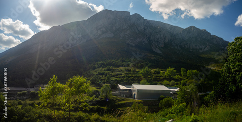 Fotografie, Obraz views of the mountain called turbon in the province of huesca aragon