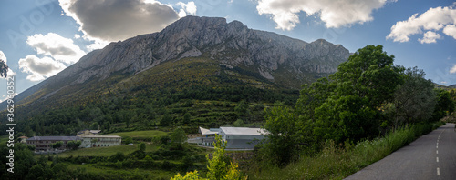 Fotografie, Tablou views of the mountain called turbon in the province of huesca aragon