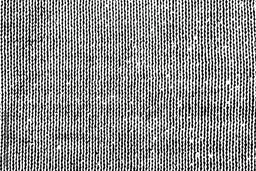 Obraz Grunge texture of the front side of a knitted fabric. Overlay template. Vector illustration - fototapety do salonu