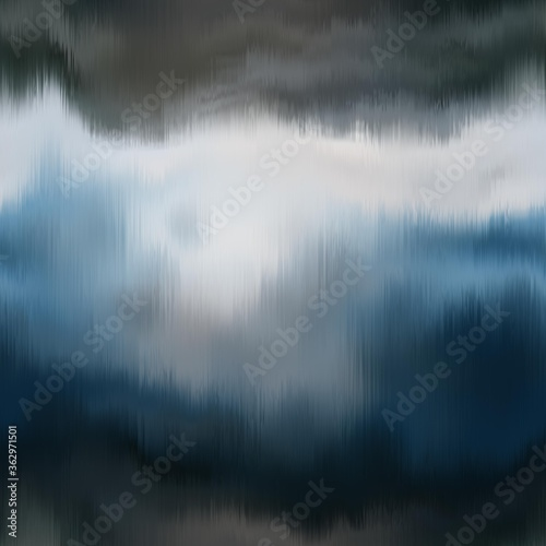 Fotografie, Obraz Vivid degrade blur ombre radiant surreal blurry saturated digital wavy ocean water seamless repeat raster jpg pattern swatch