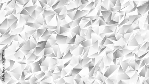 Obraz Abstract Low-Poly background. triangulated texture. Design 3d. Polygonal geometrical pattern. Triangular modern style - fototapety do salonu