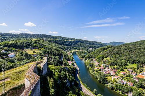 Photographie Vue sur Besançon depuis la Citadelle Vauban
