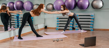 Two Girls Go In For Sports Onl...
