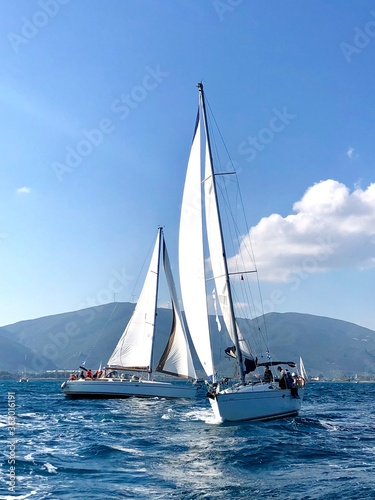 Obrazy Regaty   sailboat-on-the-sea