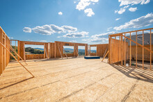 A New Construction Home Being ...