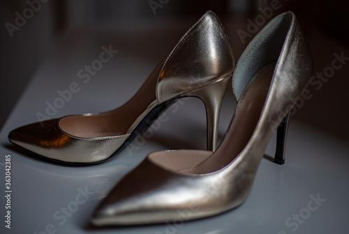 Fotografiet Close-up Of High Heels