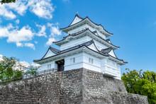 Odawara Castle Under The Blue ...