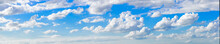 Panoramic View Of Clouds In Sky