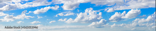 Fotografia Panoramic View Of Clouds In Sky