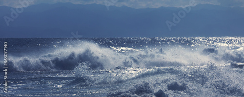 Foto Wave in storm
