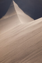 High Angle View Of Sand Dune