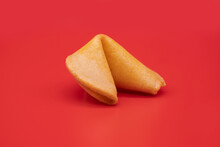 Close-up Of Fortune Cookie Aga...
