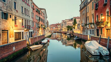 The City Of Venice In The Morn...