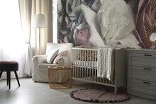 Baby Room Interior With Stylis...