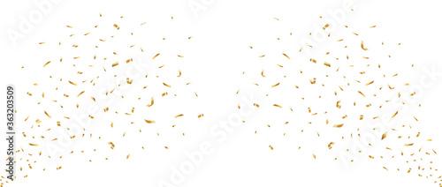 紙吹雪のベクター素材 Fototapeta