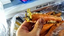 Rotten Yellow Carrot, Rotten C...
