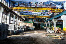 Old Abandoned Industrial Facto...