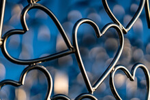 Full Frame Shot Of Heart Shape...