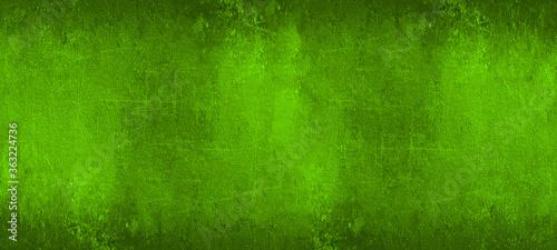 Abstract dirty rustic dark green texture Background banner panoramic panorama Fototapet