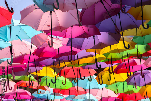 Aix -en- Provence , parasolki