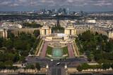 Fototapeta Fototapety Paryż - Francja , Paryż , sierpień 2015 , widok na Paryż  z Wieży Eiffla