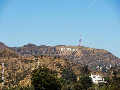 Carta da parati View Of Buildings Against Clear Blue Sky