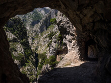 Caves In Rocky Mountains